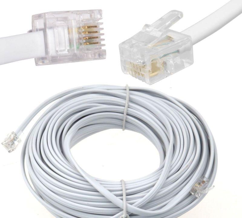 montpellier 34 cable t l phonique rj11 compatible toutes. Black Bedroom Furniture Sets. Home Design Ideas