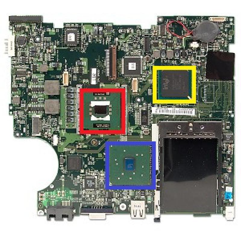 reparer carte graphique pc portable problème affichage, écran noir pc portable HP. Problème graphique
